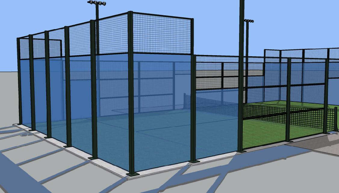 Instant green costruzione campo di padel-01
