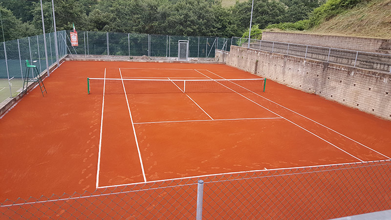 instant green costruzione campi da tennis interra battuta dopo