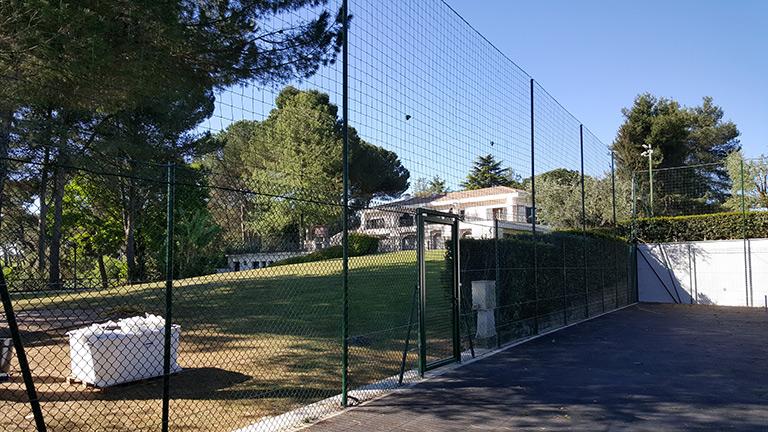 recinzione campo roma