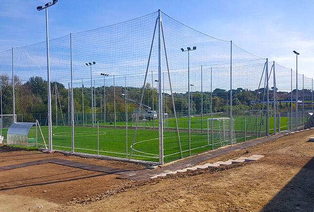 costruzione e pavimentazione di impianti sportivi recinzioni di impianti sportivi
