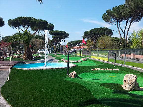 giardini in erba sintetica roma